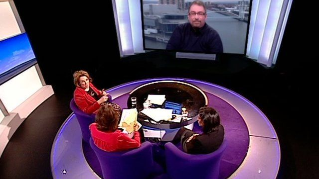 Daily Politics panel debate on food banks