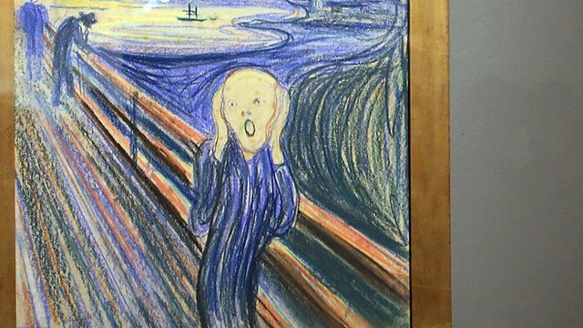 the scream i found the stolen painting bbc news