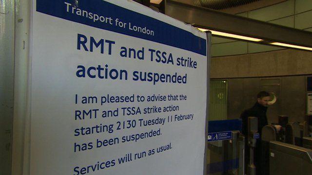 Poster at Tube station