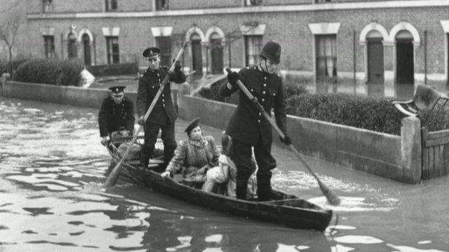 The 1947 Thames flood