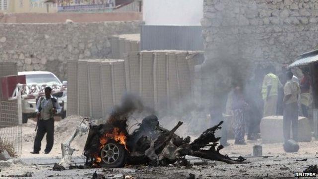 Somalia: Car bomb explodes near airport in Mogadishu