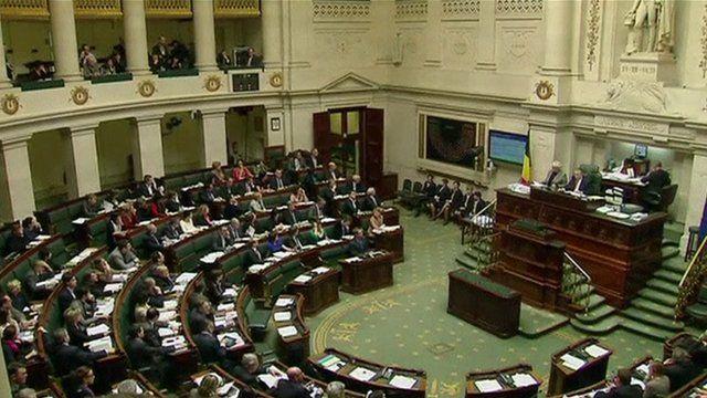 Parliament in Belgium