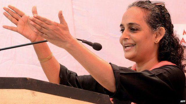 Author and activist Arundhati Roy