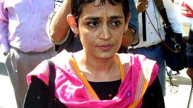 Arundhati Roy - file photo