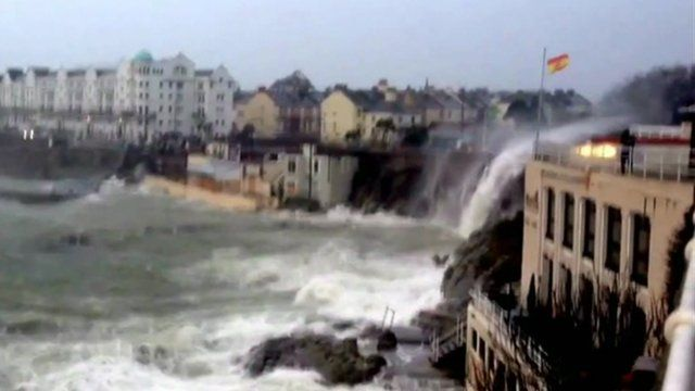 Plymouth coast
