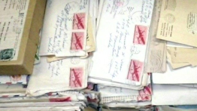 Letters written by Major Lamont Haas
