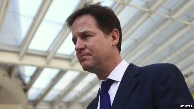 Nick Clegg - file image