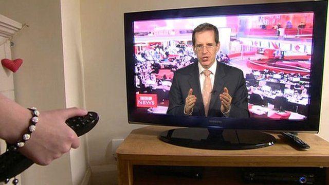 David Sillito on television