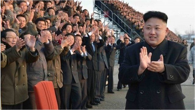 Kim Jong-un in Pyongyang (10 Feb 2014)
