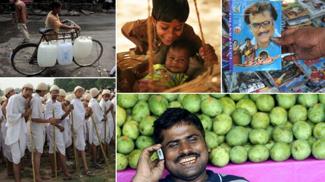 Ten 'big facts' about India