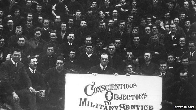 Conscientious objectors at Dyce Camp