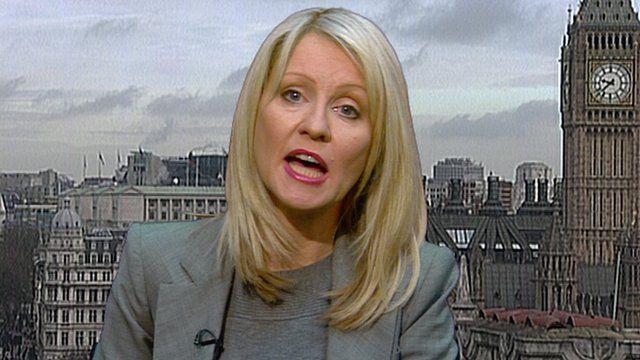 Welfare Minister Esther McVey MP
