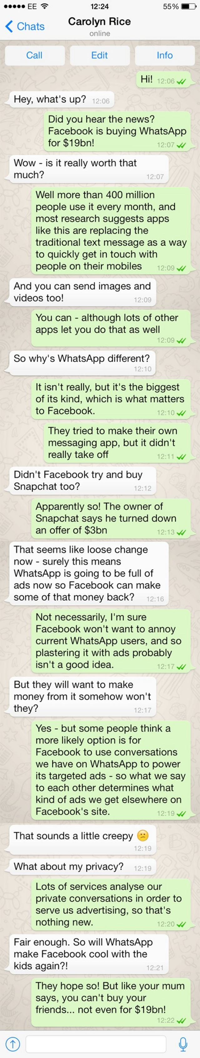 What next for WhatsApp?