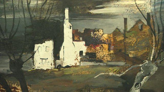John Piper painting