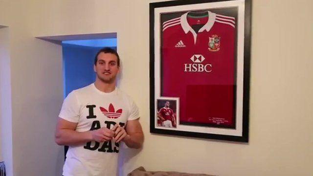 Wales rugby captain Sam Warburton