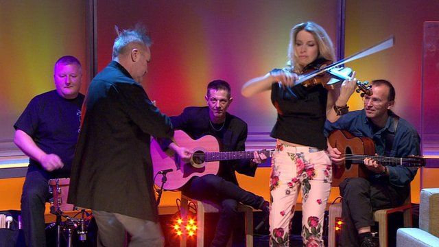 Nigel Kennedy on the Andrew Marr Show