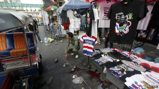 Thailand crisis: Deadly attacks on opposition rallies