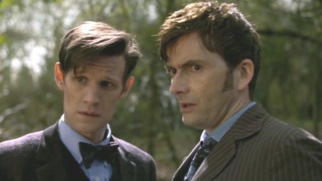 Dr Who is filmed in Wales