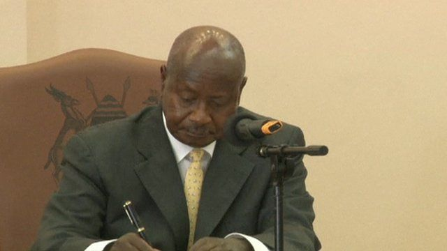 Museveni speaks out on homosexuality