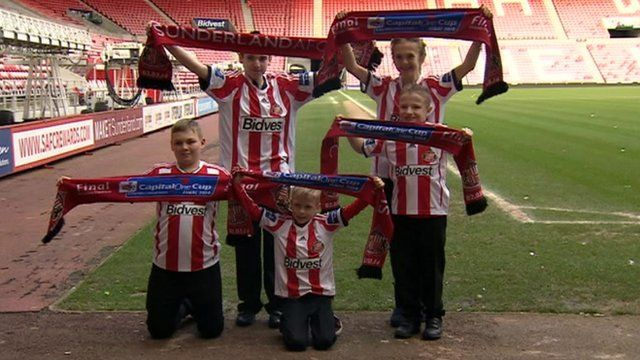 The five football fans