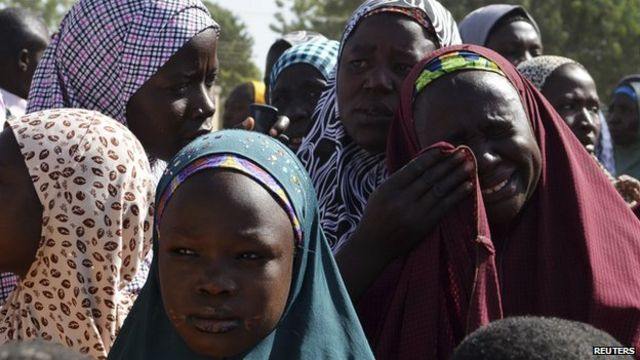 Nigeria leader defends army's role against Boko Haram