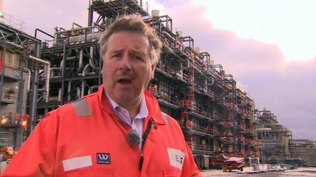 Tom Crotty of Ineos at Grangemouth plant