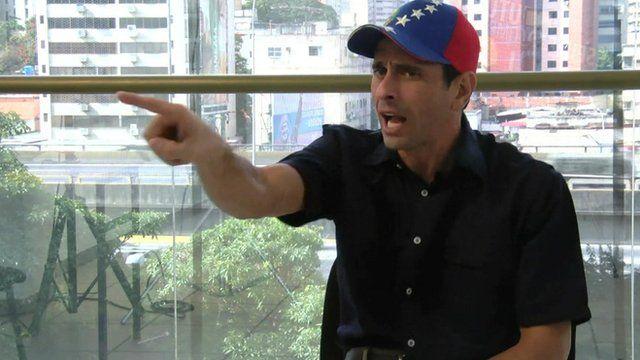 Henrique Capriles, Venezuelan opposition leader