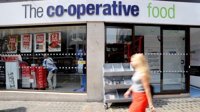 Co-op food store