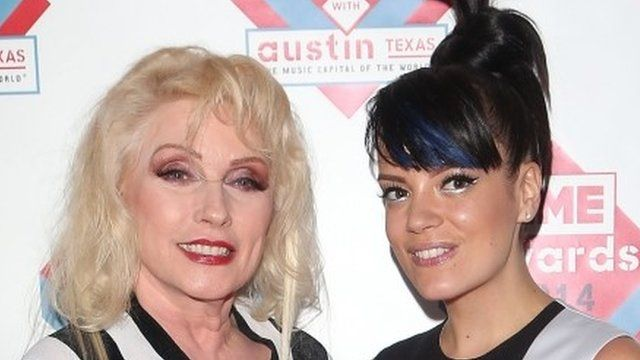 Debbie Harry and Lily Allen