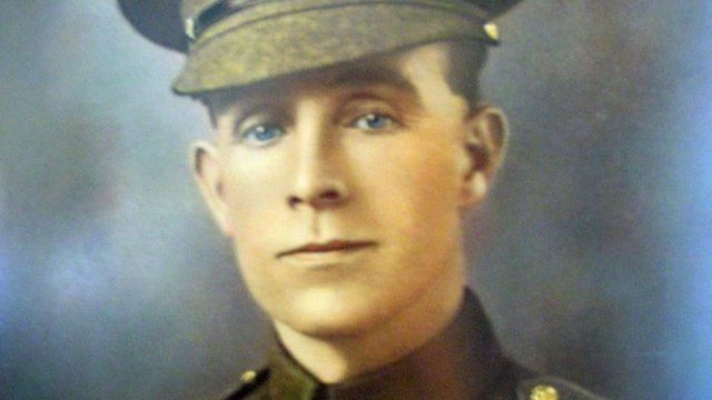 Did British soldier spare Hitler's life in WWI? - BBC News
