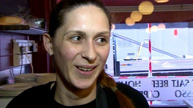 Diana, who came from Romania to the UK