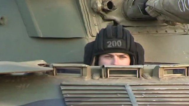 Ukraine conflict: Russia steps up military drills