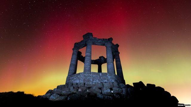Northern Lights illuminate the UK