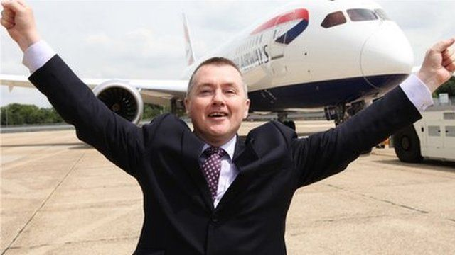 Willie Walsh and Dreamliner