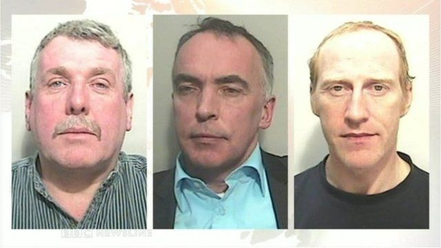 "Former estate agent Damien Mallon, ex-solicitor Peter Brassil and Peter Creegan, the former manager of a Newry bank, were jailed on Friday following a ""massive"" police investigation"