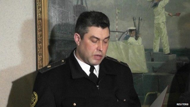 Rear Admiral Denys Berezovsky