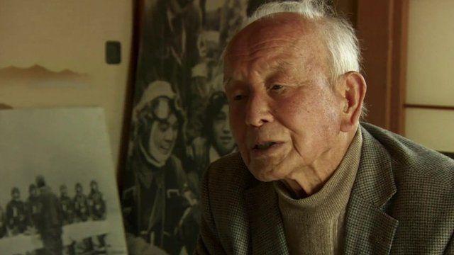 Tadamasa Itatsu, former kamikaze pilot