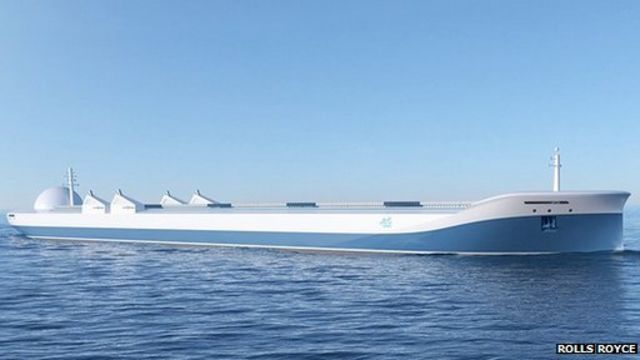 Rolls-Royce imagines a future of unmanned ships