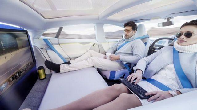Geneva Motor Show: Passengers' view of driverless cars