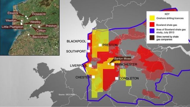 Shale gas estimate in North West 'bigger' than previously thought