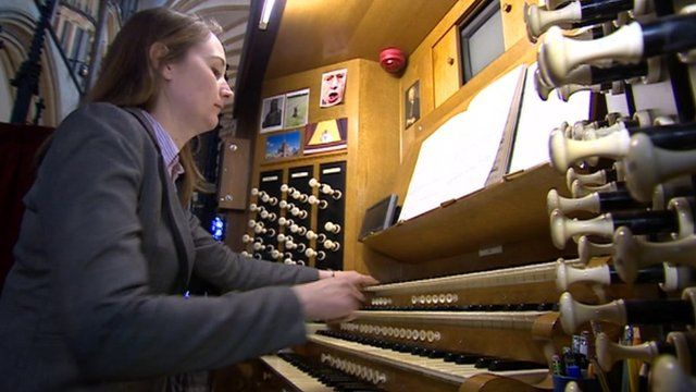 Organist at Lincoln Cathedral