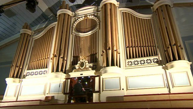 The De Montfort Hall organ was built and installed in Leicester in 1914