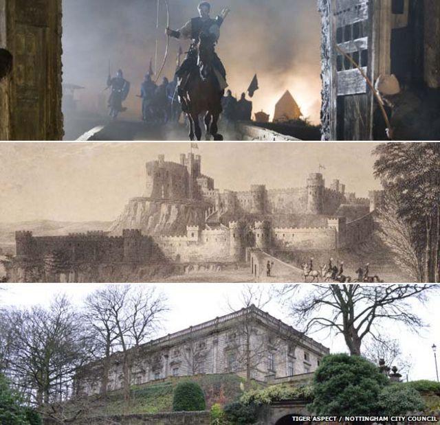 Robin Hood: What happened to Nottingham castle?