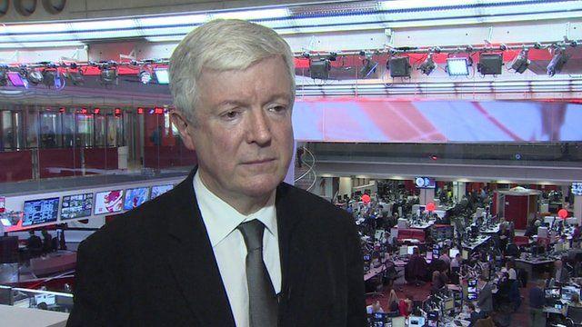 The BBC's director general Tony Hall