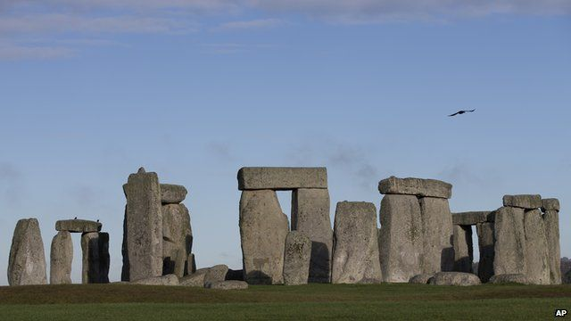 General view of Stonehenge