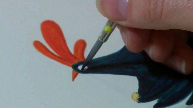 Painting Hattie Peck