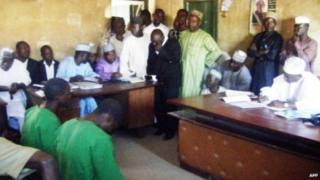 Nigeria gays: 20 lashes for 'homosexual offences'