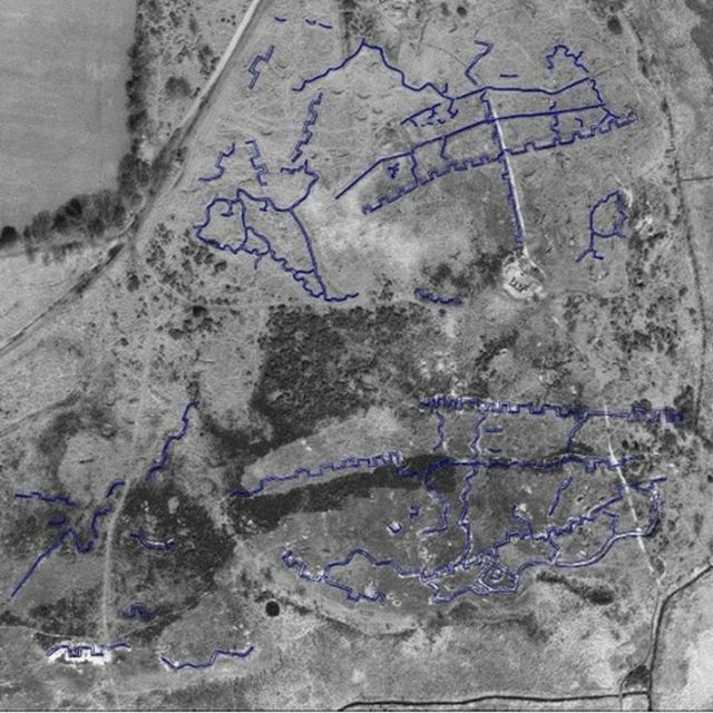 Practice WW1 battlefield discovered at Gosport MoD site