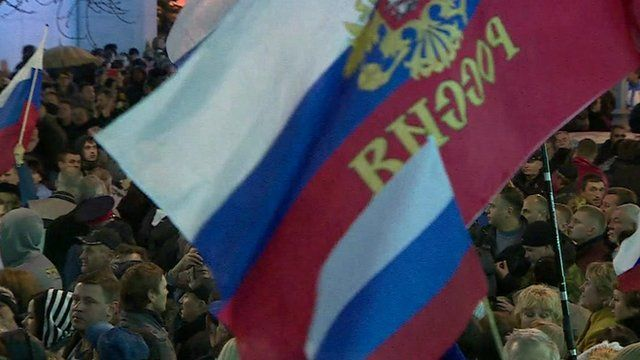Ukraine crisis: Crimean MPs ask to join Russia