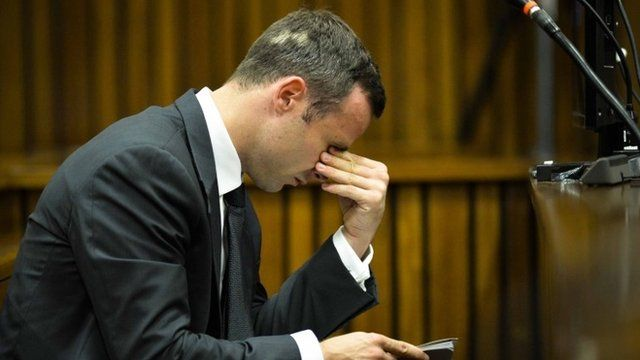 Oscar Pistorius on March 7